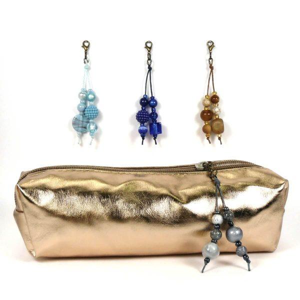 Taschenbaumler Mini bronze hellblau bis anthrazit