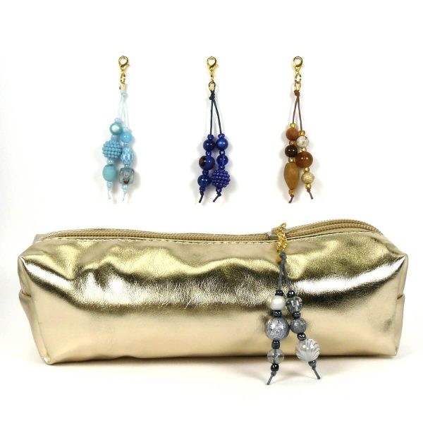 Taschenbaumler Mini gold hellblau bis anthrazit